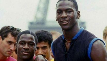 Michael y Larry Jordan. Hermanos y rivales.