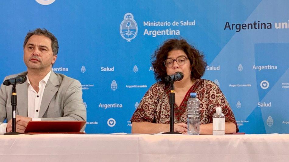 Alejandro Costa Carla Vizzotti ministerio de salud