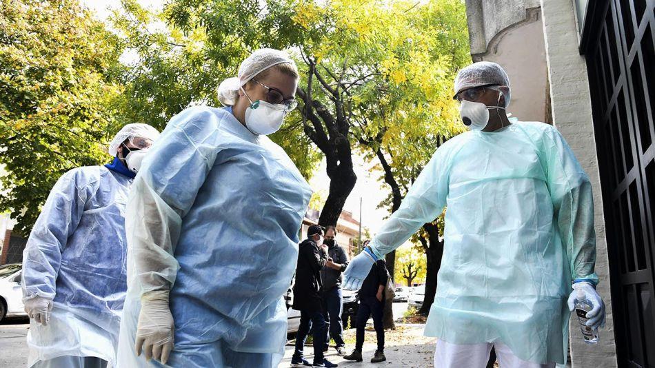 Buenos Aires: Un muerto y siete contagiados en un geriátrico de Parque Avellaneda 20200422
