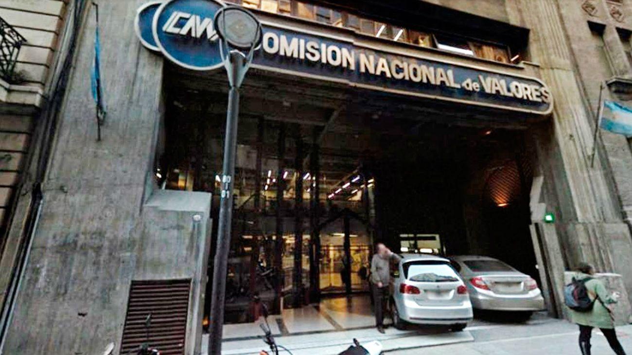 Comisión Nacional de Valores.
