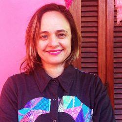 Mariana Cortés en una cruzada solidaria.