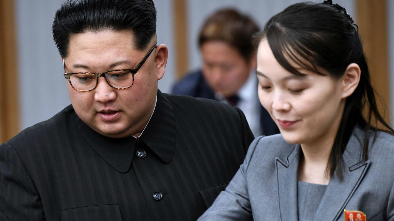 "Kim Yo-jong, hermana del ""líder supremo"" norcoreano Kim Jong Un"