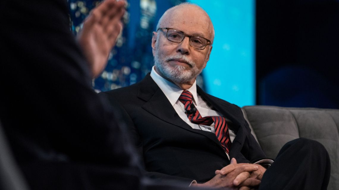 Paul Singer, founder and president of Elliott Management Corp., listens during the Bloomberg Invest Summit in New York, US, on Wednesday, June 7, 2017.