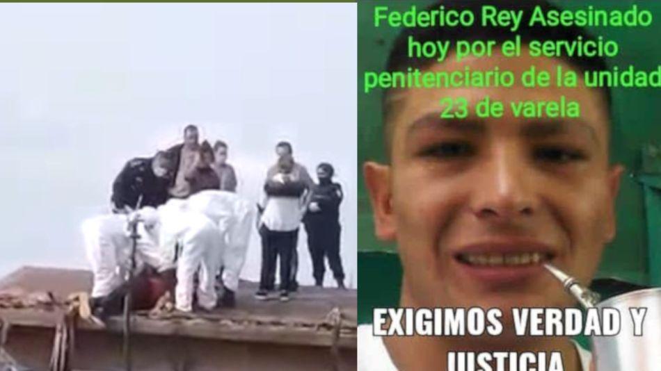 2020 04 23 Federico Rey Ramirez Detenido Muerto Motin Florencio Varela