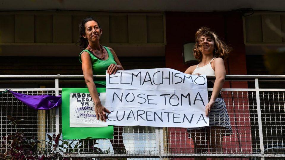 Manifestaciones desde los balcones en tiempos de cuarentena