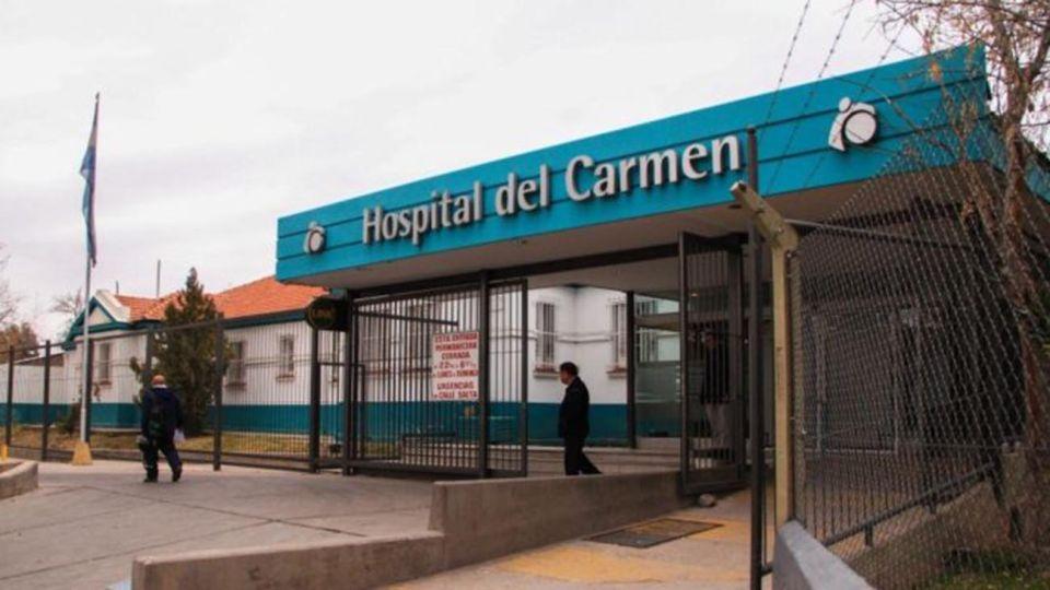 Mendoza:Hospital del Carmen