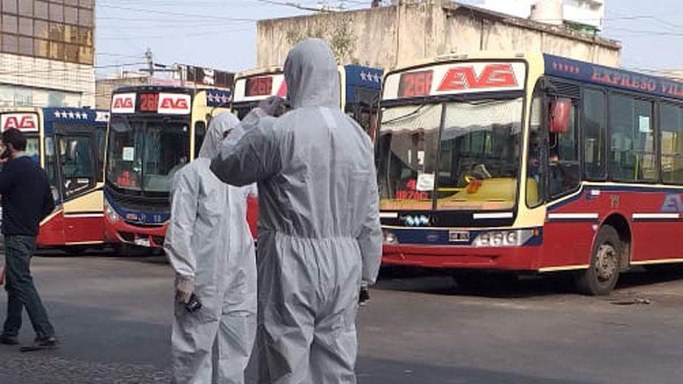 El transporte público durante la Pandemia en Argentina
