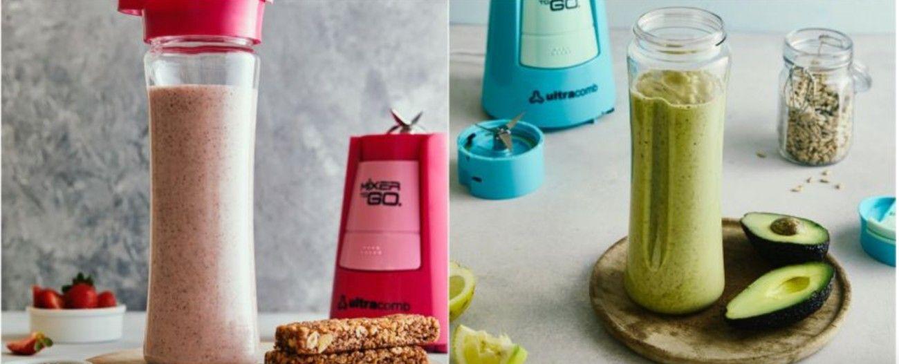 Desde Ultracomb, la marca argentina líder en pequeños electrodomésticos para el hogar, te acercan dos recetas de batidos energéticos ideales para preparar en casa: uno de palta y otro proteico de frutillas y chía.