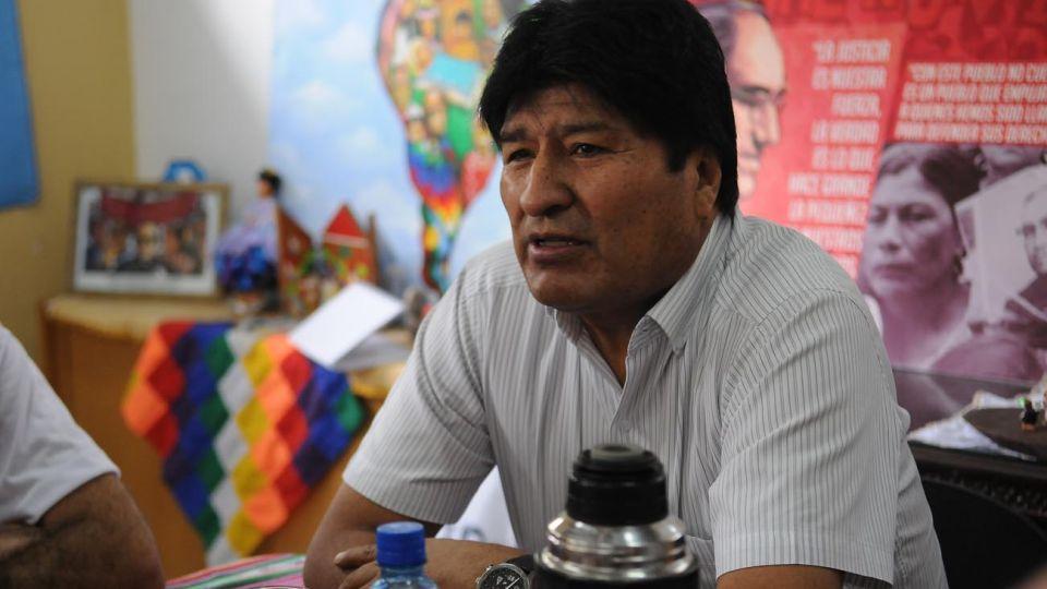 Evo Morales en Argentina