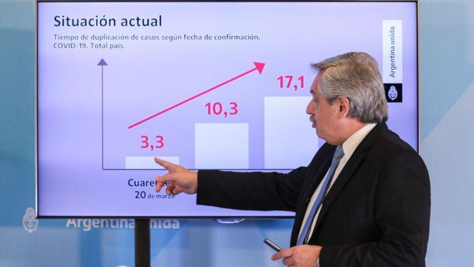 Alberto Fernández explicó la decisión de extender la cuarentena.