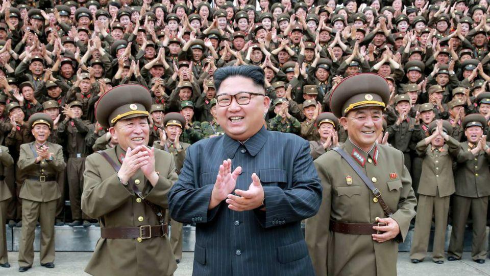 Kim Jon Un, líder supremo de Corea del Norte y presidente del Partido de los Trabajadores de Corea