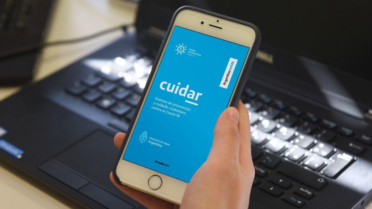 La app CuidAR permite hacer una autoevaluación de síntomas de Covid-19