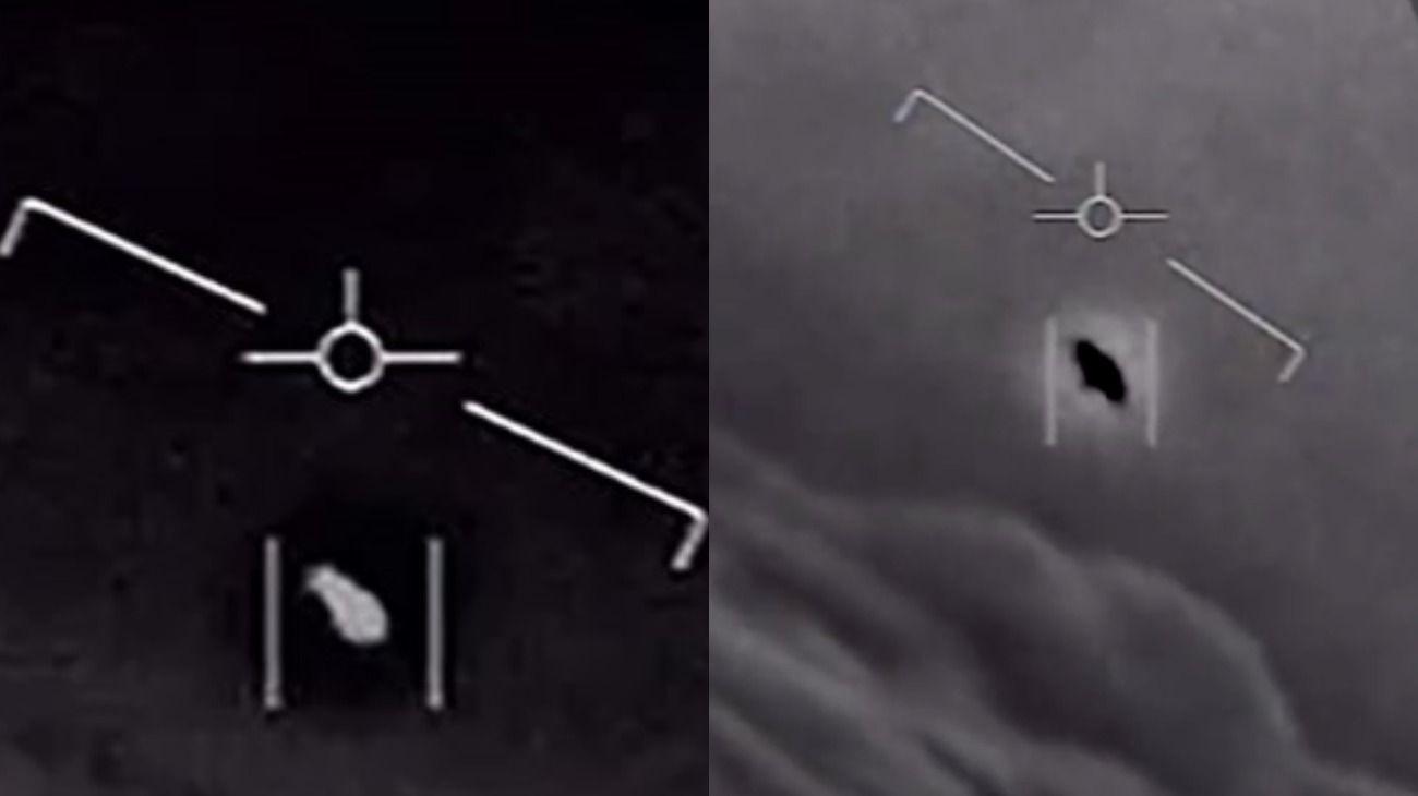 Los objetos no identificados que registraron oficiales de La Marina de Estados Unidos se dieron a conocer oficialmente.