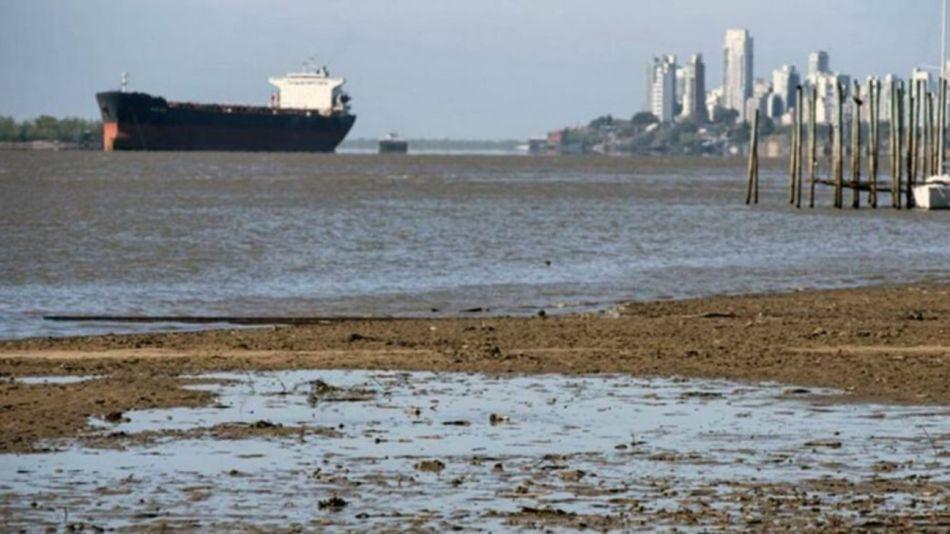 Río Paraná: el nivel de agua recién mejoraría en primavera