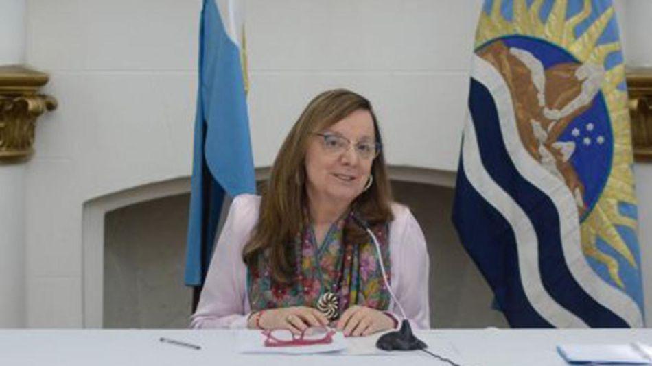 Santa Cruz: Conferencia de prensa de alicia Kirchner