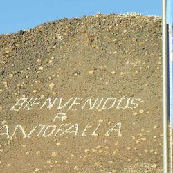 La bienvenida a Antofalla luego de un largo pereginar.