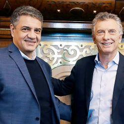 Jorge y Muaricio Macri | Foto:cedoc