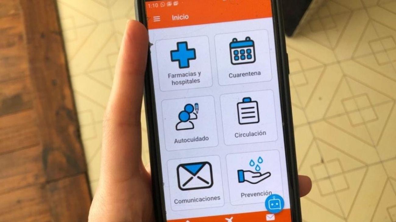 """Polémica en Tierra del Fuego por una app para """"cronometrar"""" las salidas en cuarentena"""