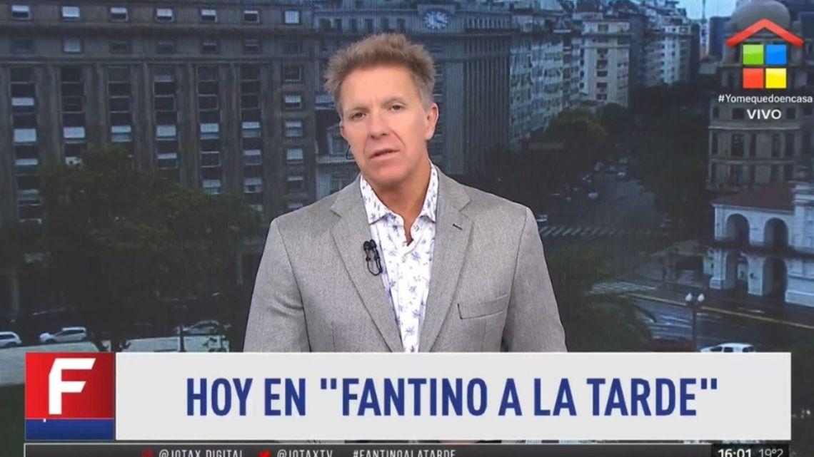 El pedido de Alejandro Fantino para la dirigencia de Boca por el caso Villa