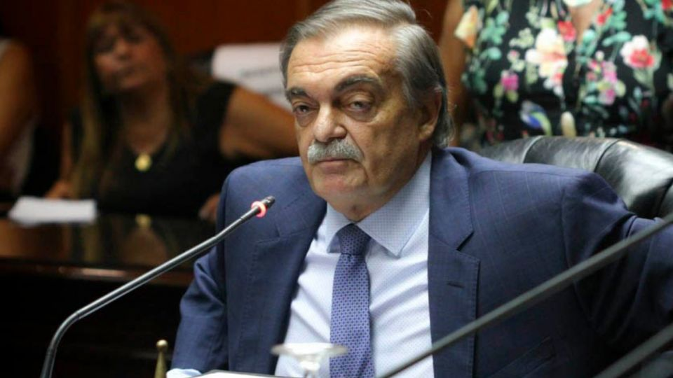 El presidente del Consejo de la Magistratura, Alberto Lugones