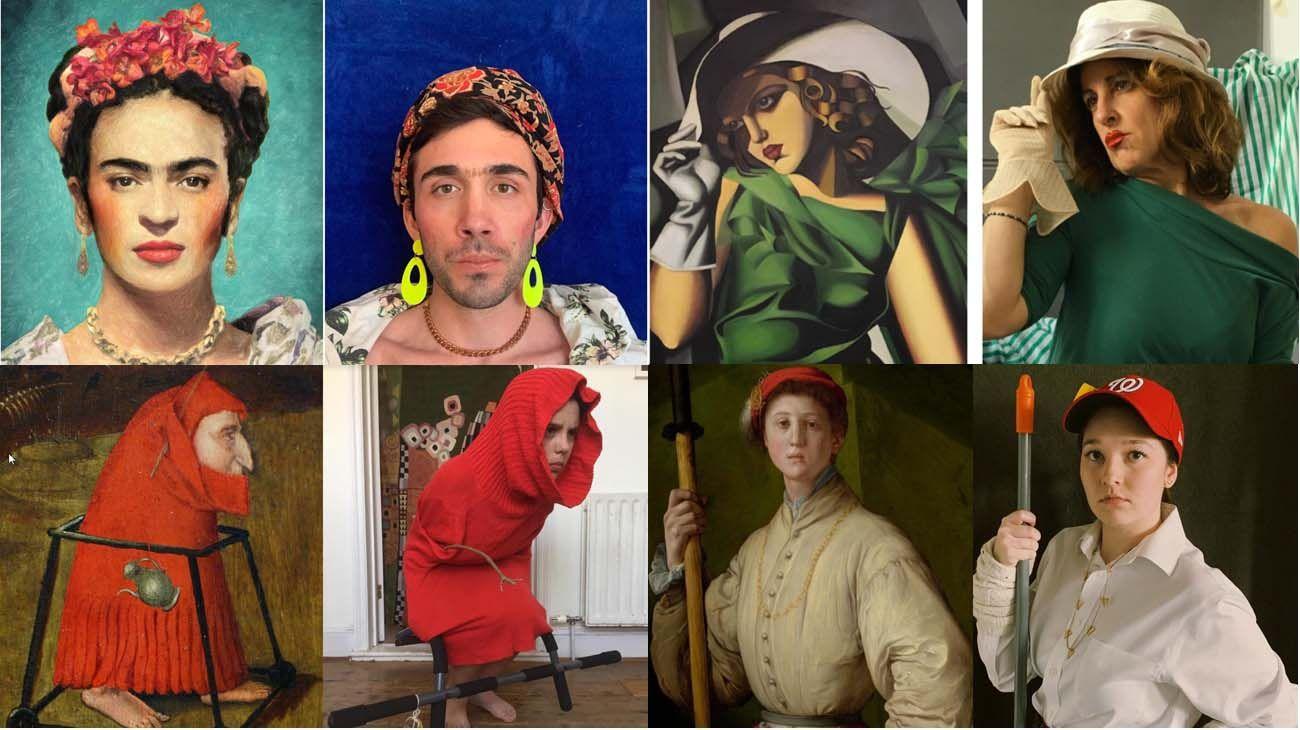 Arte y homenaje en tiempos de coronavirus.