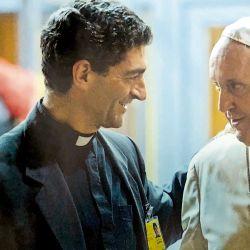 Augusto Zampini y el Papa Francisco | Foto:cedoc