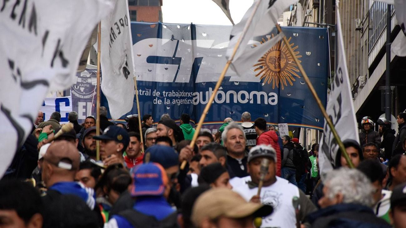 Central de Trabajadores de la Argentina Autónoma.