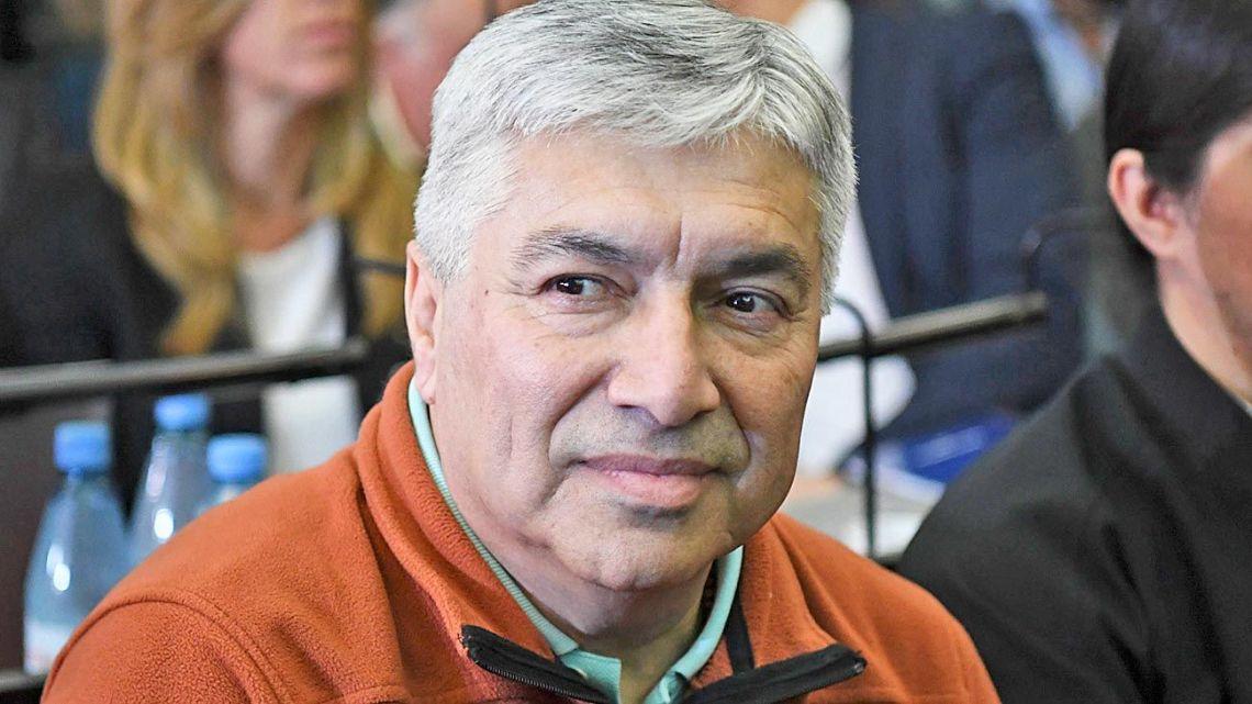 Lázaro Báez, pictured in court.