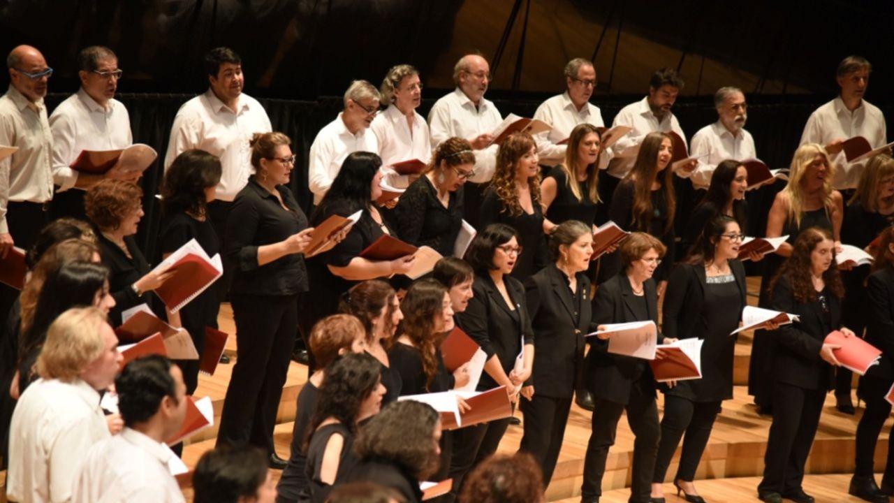 Coro Polifónico Nacional | Foto:Cedoc
