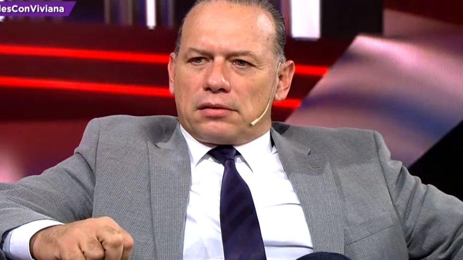 El ministro de Seguridad de la provincia de Buenos Aires, Sergio Berni