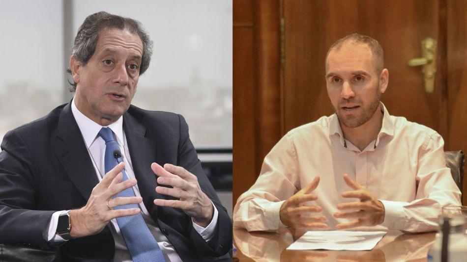 Miguel pesce y martín Guzmán 20200429
