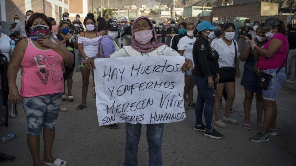 motin en carcel Castro Castro de Lima Peru 20200429
