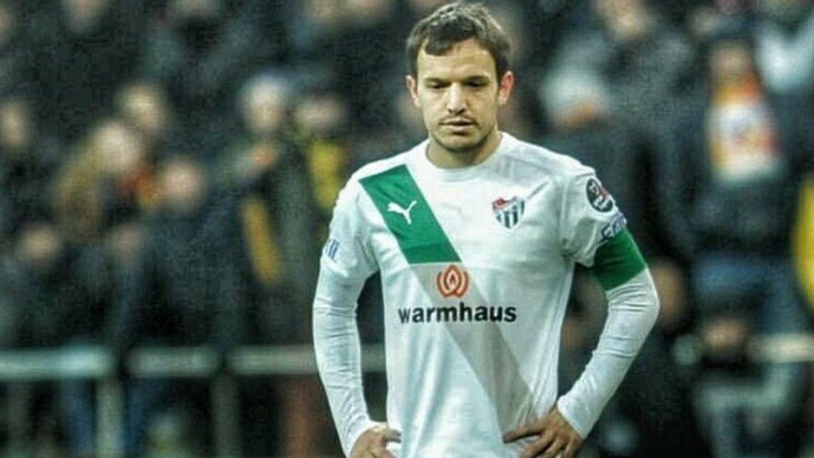 Un jugador argentino es el nuevo entrenador del Bursaspor