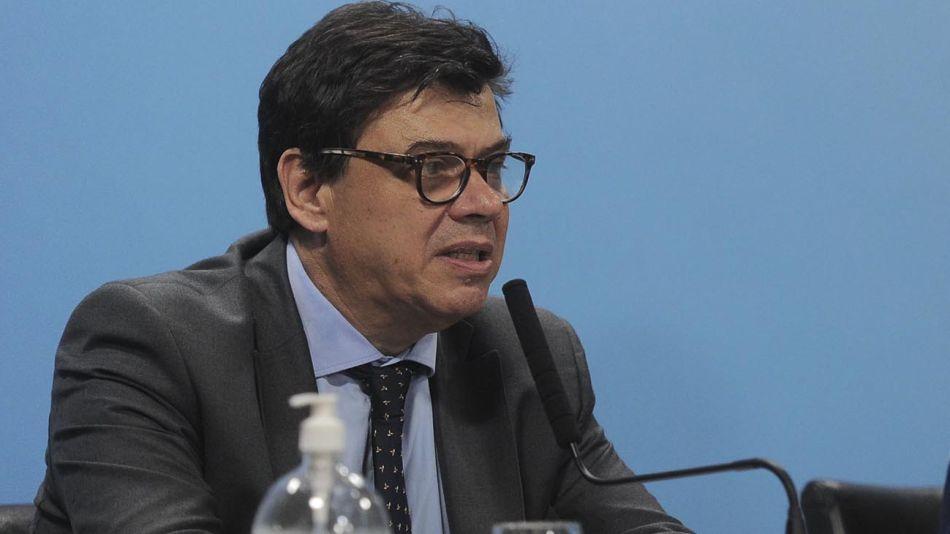Buenos Aires: El ministro de Trabajo, Claudio Moroni, 20200430