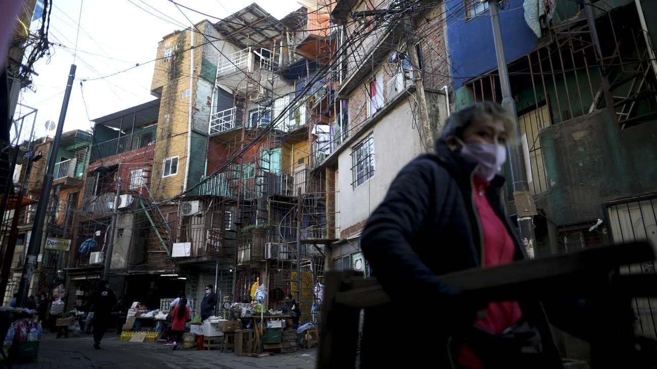 La situación es preocupante en el Barrio 31 por el incremento de contagiados de Coronavirus registrados esta semana.