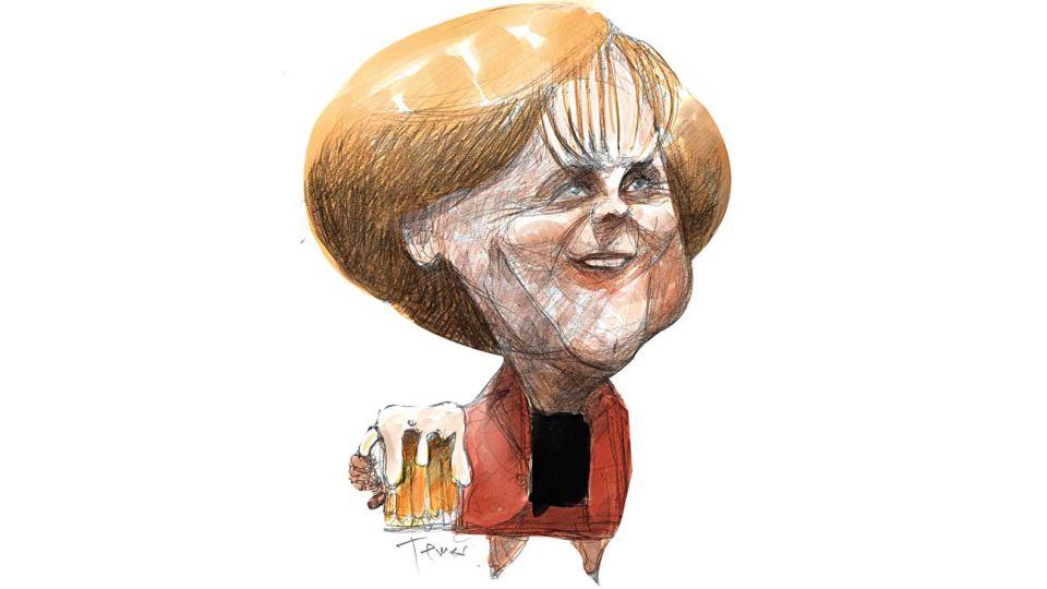 Made in Germany, Angela Merkel.