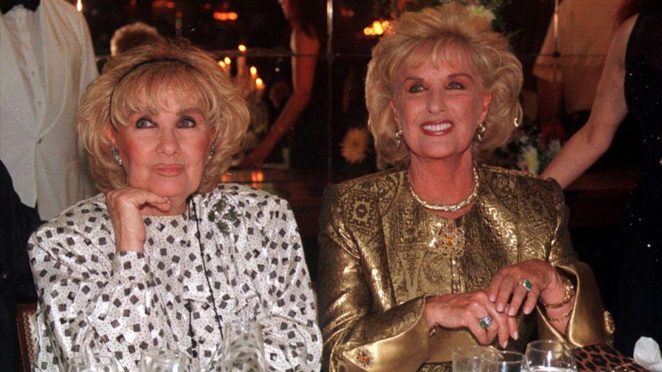 Falleció Goldie la hermana melliza de MIrtha Legrand
