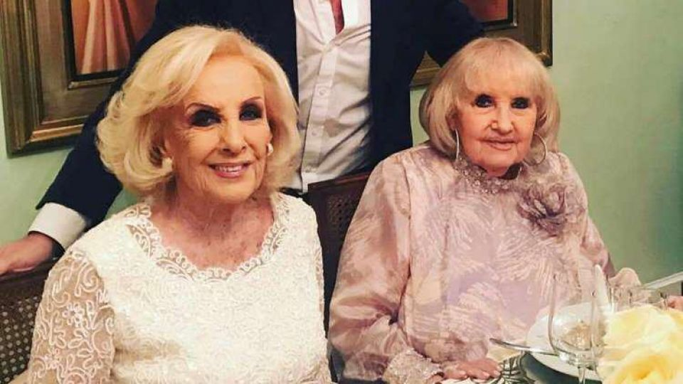 Mirtha y Goldie Legrand