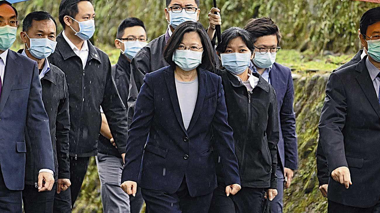 Taiwán. Su presidenta combina modernidad con displicina oriental.