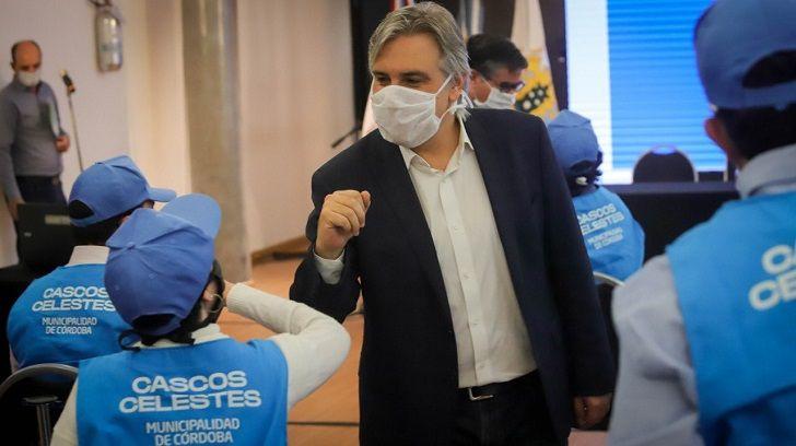CAMBIOS. El intendente Llaryora reperfila la gestión para después de la pandemia.