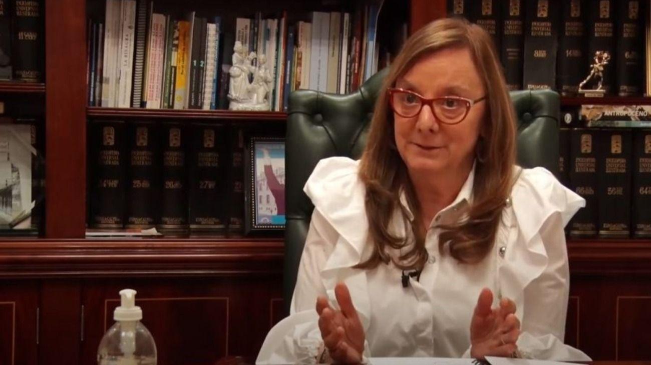 La gobernadora de Santa Cruz, Alicia Kirchner.