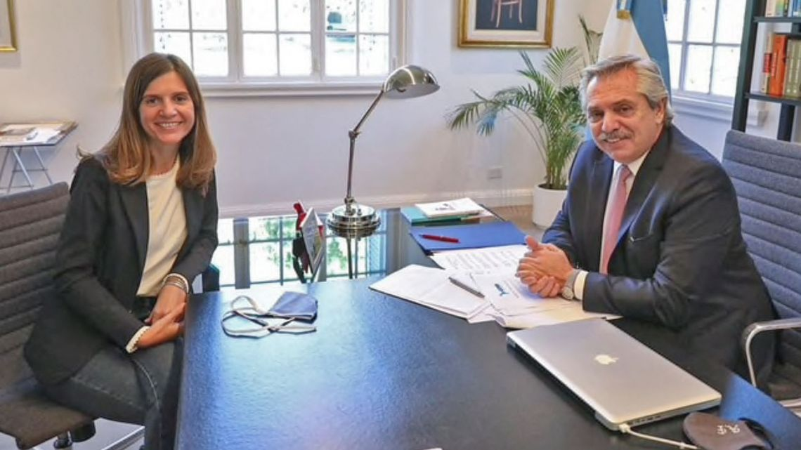 Fernanda Raverta is the new Anses Chief