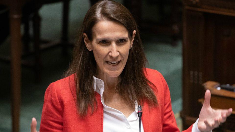 Sophie Wilmes, premier de Bélgica.