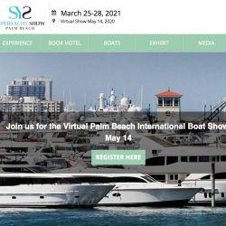 Ya está abierta la inscripción gratuita para recorrer el Boat Show de Palm Beach en forma virtual.