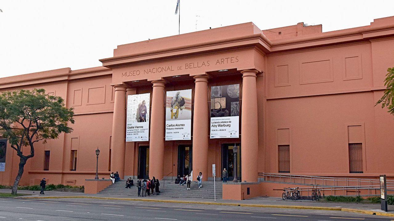 Museo de Bellas Artes | Foto:Cedoc