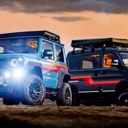 Outclass Cars adaptó dos diminutos 4x4 de Suzuki y los convirtió en máquinas perfectas para la aventura.