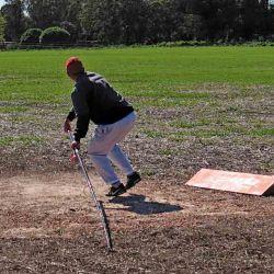 Secuencia 1: Secuencia de lanzamiento competitivo: el cuerpo a disposición de fuerzas físicas para vencer la inercia y lograr depositar un plomo a la mayor distancia posible.
