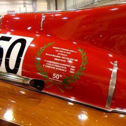 El Ferrari Arno XI logró varias victorias sobre el agua.