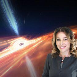 En Apocalipsis de agujeros negros Janna Levin intenta asociar esos fenómenos con el origen de la Tierra como planeta.