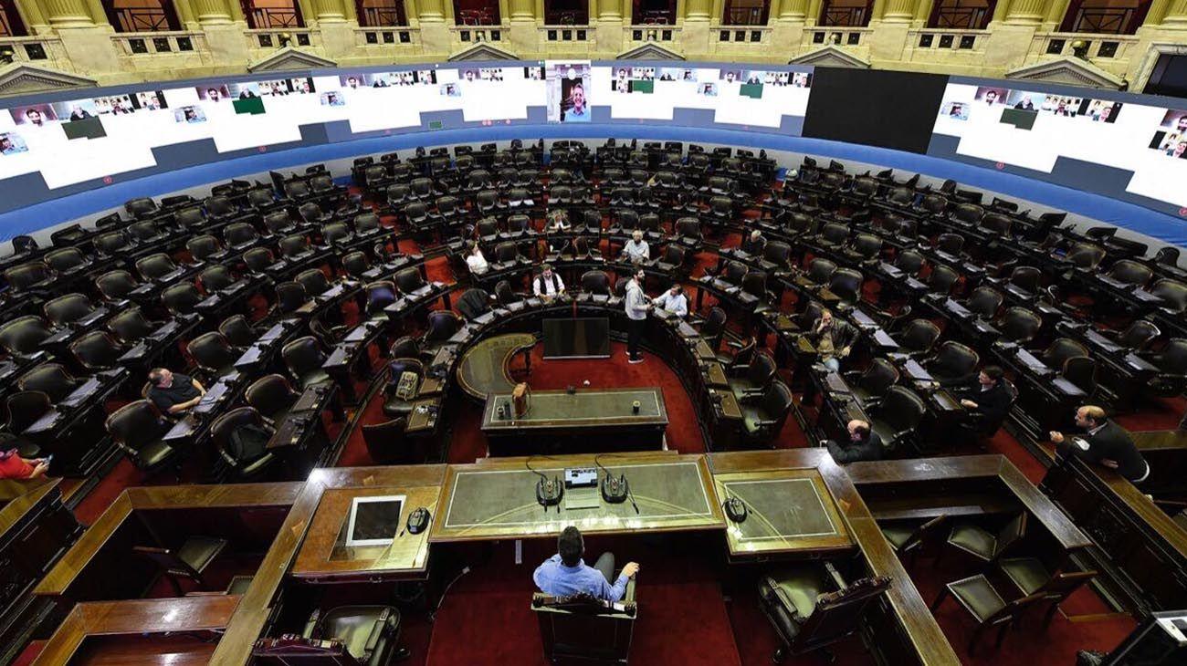 Diputados se prepara para sesionar el próximo jueves